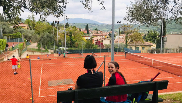 Tennis am Gardasee